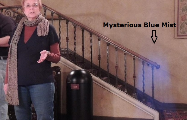 Is this proof that there are ghosts in the Mt. Baker Theatre?