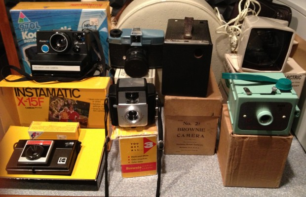 Show and Tell:  Betty's Camera Collection
