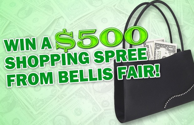 Win a $500 Shopping Spree from Bellis Fair