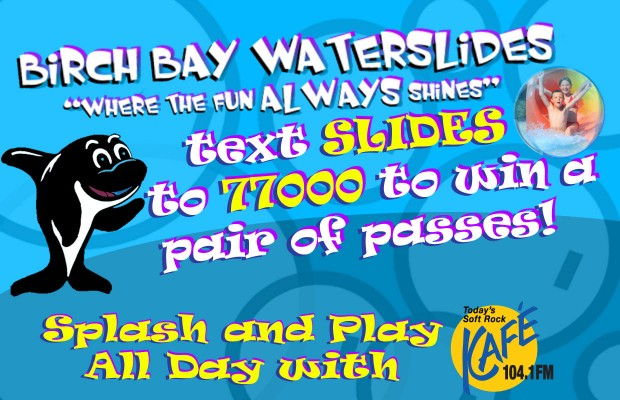 Birch Bay Waterslides Ticket Giveaway MATERIAL TERMS