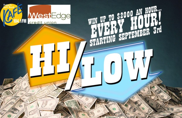 Play Hi/Low Starting September 3rd!