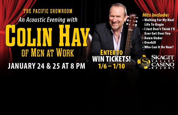 An Acoustic Evening with Colin Hay!