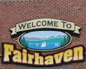 DMW Fairhaven Welcome Sign